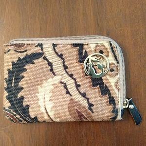 Spartina Zip Around Wallet/Pouch